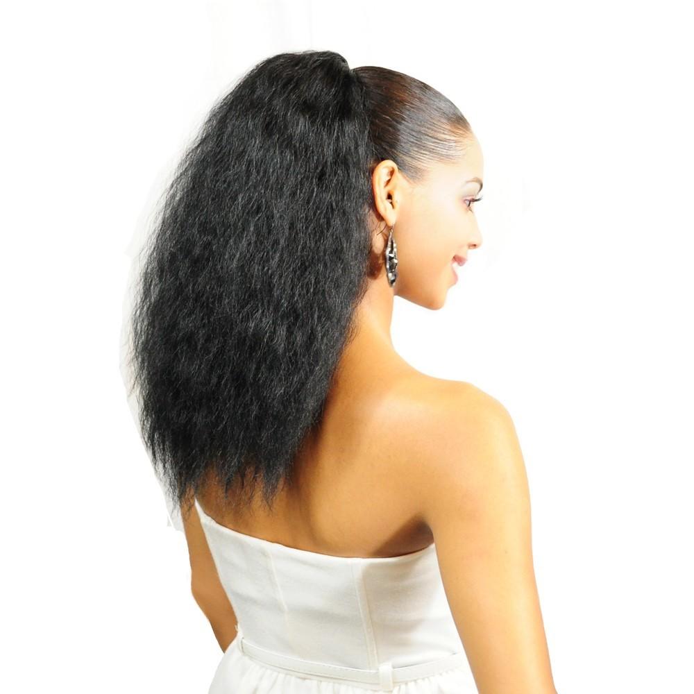 Afro Frizz Organics Hair Drawstring Ponytail MetroFem
