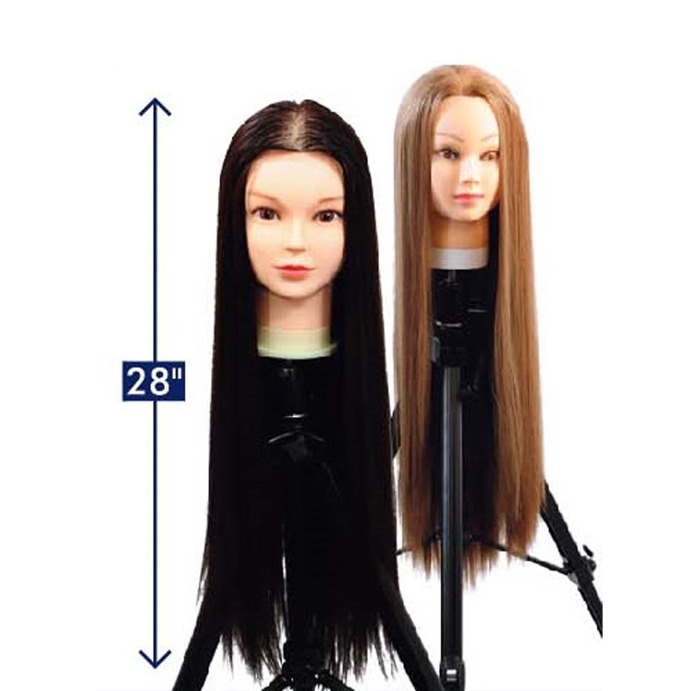 Mannequin Head W 28 Organics Hair