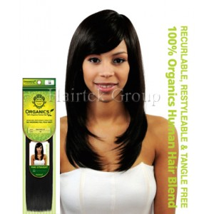 Yaki Straight Organics Human Hair