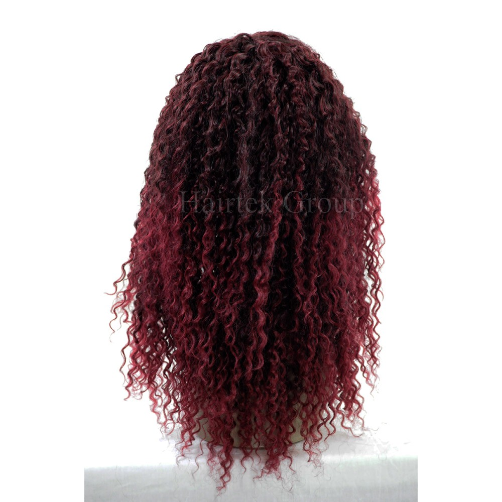 1416 5pcs Organics Human Hair Blend All In One French Twist Weave